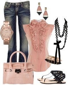 """my style #20"" by jacquelyn-rodney ❤ liked on Polyvore"
