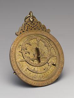 Astrolabe of 'Umar ibn Yusuf ibn 'Umar ibn 'Ali ibn Rasul al-Muzaffari [Yemen] (91.1.535a-h)   Heilbrunn Timeline of Art History   The Metropolitan Museum of Art