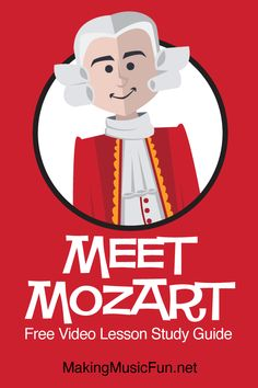 Music Lessons For Kids, Music Lesson Plans, Mozart For Kids, Music Flashcards, Free Music For Videos, General Music Classroom, Keyboard Lessons, Free Printable Worksheets, Elementary Music