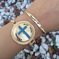 ✨HOST PICK✨ HOPE Cuff Bracelet✨ ✨Host Pick ✨ HOPE Cuff Bracelet✨ Fabulous bracelet to layer or wear solo Jewelry Bracelets