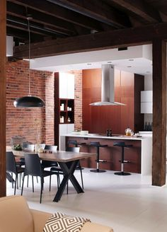 Masculine Style Loft With Fresh Design Inspiration In Montreal