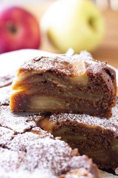 Una torta buonissima che si scioglie in bocca. #Tortadimele #senzauova #senzaburro #tortadimelesenzauova My Recipes, Nutella, Banana Bread, French Toast, Breakfast, Desserts, Food, Bakken, Morning Coffee