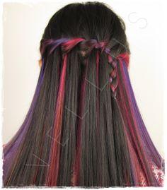 Manic Panic Hair Dye Manic Panic Hair Dye, Vellus Hair, Hair Studio, Dyed Hair, Hair Styles, Beauty, Hair Plait Styles, Hair Makeup, Hairdos