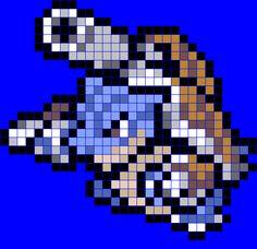 Mega Blastoise Peler Bead Pattern