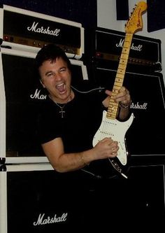 Galaxy Guitar Products USA Founder, CEO Randy Young Blazing On Guitar.