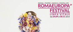 Teatro, rock, grunge, pop saranno i protagonisti di quaranta giorni di pura musica del RomaEuropa Festival che si terrà dal 14 Ottobre al 30 Novembre