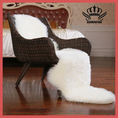 ROWNFUR Imitation Wool rugs for home fur Carpets tapetes alfombras for kids room living room very warm high quality sheepskin