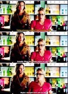 Arrow - Laurel & Felicity #3.15 #Season3