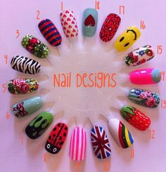 Hand Painted Nail Designs - Bing Images