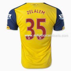 Camiseta de Zelalem Arsenal 35 2nd 2015