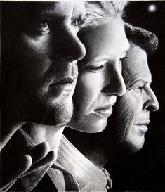 This is by artist named Franco Clun. Amazing pencil drawing!