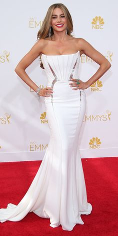 11 Times Celebs Basically Wore Wedding Dresses on the Red Carpet - Sofia Vergara from InStyle.com