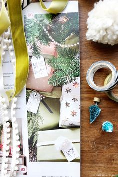 Look what made it into the pages of BHG Christmas Ideas Magazine! (and free gift tags) | jones design company