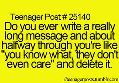 Lol I do this all the time