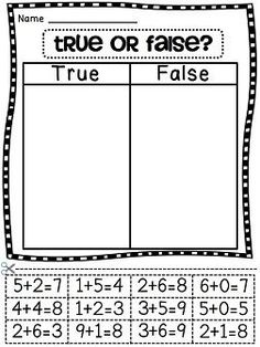 math worksheet : 1000 images about addition grouping subtraction  separating  : Cut And Paste Math Worksheets For First Grade