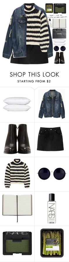 """""""⭐youre not good for me darling⭐"""" by grunge-alien on Polyvore featuring Alexander Wang, Chloé, Linda Farrow, Chanel, NARS Cosmetics and grungestopset"""