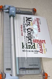 Wordle teacher gift