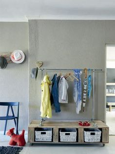 DIY your own coat and hat rack Coat And Hat Rack, Weekend Projects, Entryway, Diy, Inspiration, Furniture, Home Decor, Lifestyle, Ideas