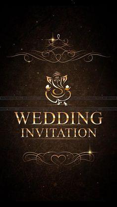 Marriage Invitation Card, Indian Wedding Invitation Cards, Wedding Invitation Background, Wedding Invitation Video, Wedding Invitation Card Design, Engagement Invitations, Wedding Card Design, Modern Wedding Invitations, Wedding Card Maker