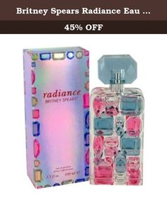 Britney Spears Radiance Eau de Parfum Spray, 1 Ounce. Alluring, confident and sensual. Every woman wonders what secrets the future holds will she be happy? Will she find love? But it's the moment she realizes that she has the power to decide her own fate that she is truly illuminated. This is Britney's moment. She has been transformed into her most luminous, confident self. The woman we have always believed in arresting and independent. She no longer looks to fate and fortune to decide…