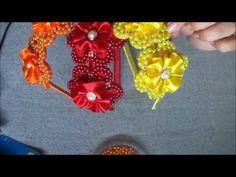 Tiara com laço de manta de strass | DIY - PAP - YouTube