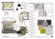 10 Architecture Portfolios for Design Inspiration Portfolio Design Layouts, Layout Design, Presentation Board Design, Interior Design Presentation, Architecture Presentation Board, Mood Board Interior, Interior Design Boards, Moodboard Interior Design, Interior Design Portfolios