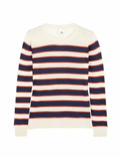 A bolder take on the classic breton, this knit is the perfect transitional piece for spring. Iris & Ink sweater, £140 at The Outnet