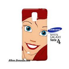 Ariel Little Mermaid Samsung Galaxy Note 4 Hardshell Case
