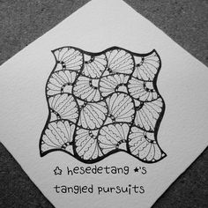 https://flic.kr/p/yXgYxK | Cadenza - a new tangle | This is an example of my new tangle, Cadenza. It is based on an official Zentangle pattern called the Cadent. ... Please feel free to use the step outs to recreate Cadenza in your tangles. However I reserve my rights to these images and they should not be copied or reproduced. Thank you! - Debbie New CZT 18