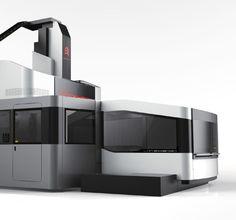 CNC Gantry Machining Center | Red Dot Design Award for Design Concepts