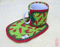 Mug Rug para xícara de café