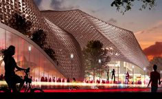 VIDEO: Google's new California headquarters is a greenhouse utopia by BIG and Heatherwick