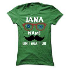 (Tshirt Best Sale) JANA Is The Name 999 Cool Name Shirt Discount 20% Hoodies, Funny Tee Shirts