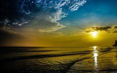 Wallpapers HD: Beach Sunrise