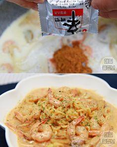 그릇까지 싹싹 핥는다는 '마약 라면 요리' 레시피 6가지 Food Menu, Food Items, Recipe Collection, Pasta Salad, Noodles, Food And Drink, Cooking Recipes, Ethnic Recipes, Crab Pasta Salad