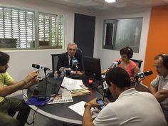 """Antonio Banda, CEO de Feelcapital, en el programa Cierre de Mercados de Radio Intereconomía: """"Hemos creado un simulador para informar del coste medio cuando inviertes en fondos"""". #FondosDeInversión (2 de julio de 2015)."""