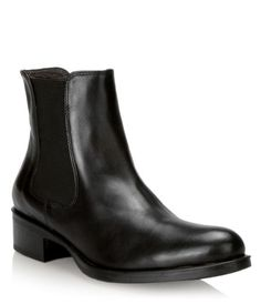 Browns leather Chelsea boots