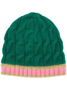 Gucci Arran Knitted Hat With Webbing - Farfetch c9011d410c93