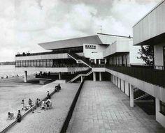 Pirita beach pavilion in Tallinn. 1979. Architect Mai Roosna