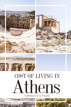 Cost of Living in Athens, Greece | http://farmboyandcitygirl.com/destinations/europe/greece/athens/cost-of-living-in-athens-greece/