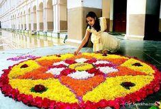 Easy-and-simple-ways-to-put-onam-pookkalam-designs-for-home-and-pookkalam-competions-along-with-latest-pookkalam-designs, onam, onam pookkalam, pookkalam designs, indian festivals, kerala festival, indian art, rangoli design, making pookkalam, mahabali, vamanan, onam celebration, onam craft, onam diy, onam decoration, onam crafts, onam activities for kids, onam activities, onam decoration, onam decor