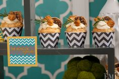 The Roscoe cupcakes by 24 carrots Catering & Events