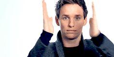 eddie redmayne is too good for this world, Eddie is part of Film4′s 2015 clapperboard montage...