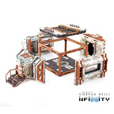 Infinity the Game terrain Cosmica HAB Building