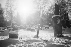 my strange love for cemeteries