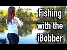 Girlfriend Fishing with the iBobber ReelSonar Fish Finder - YouTube
