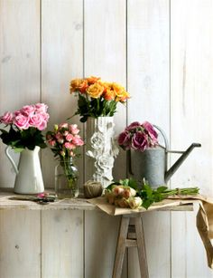 The best luxury would be to have fresh flowers at home, every day! #roses #flowers