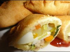 Resep Kue Pastel Goreng Maknyus Hot Dog Buns, Baked Potato, Curry, Bread, Snacks, Dns, Baking, Anonymous, Ethnic Recipes