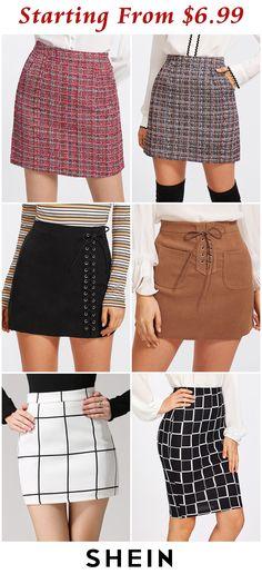 fb85946c7 559 mejores imágenes de faldas cortas en 2019 | Ropa informal ...
