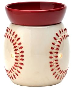 """Play Ball"" (Baseball) warmer from scentsy Baseball Crafts, Man Cave Gifts, Man Room, Best Candles, Scentsy, Sports Decor, Baseball Season, Duke, Fathers"